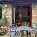 Timber doors - hardwood double doors