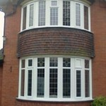 PVCu windows: two, 7 section bay windows