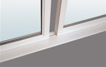 DIY Conservatory Prices - K2 Konnect panels engage into the sill and slide into position