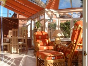 Finishing touches for your conservatory - conservatory window and roof  blinds