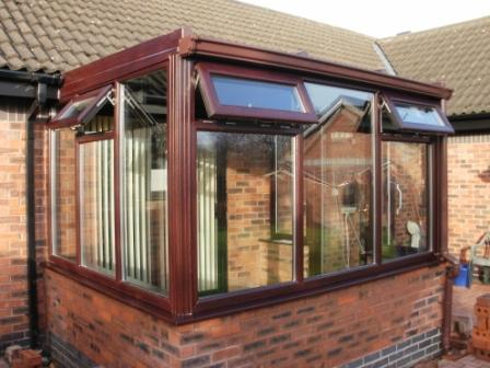 Sun Lounge Conservatories - The completed conservatory