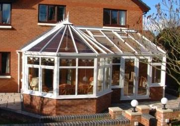 Combination Conservatories - The completed conservatory - Victorian P Shape conservatory