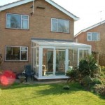 DIY Conservatories - White PVCu double glazed lean-to conservatory