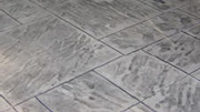 Imprinted concrete colours & patterns - York stone