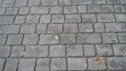 Imprinted concrete colours & patterns - deep joint slate cobblestone