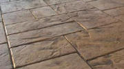 Imprinted concrete colours & patterns - large ashlar slate