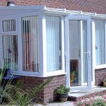 DIY Conservatory Prices - White uPVC Lean to conservatory