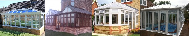 DIY Conservatory Prices for a wide range of uPVC conservatory designs