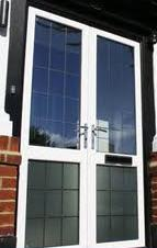 Replacement Doors - Aluminium double doors