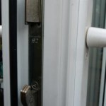 Hook bolt locking mechanism