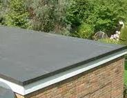 Rubber EPDM flat roofs