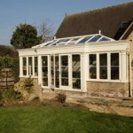 Conservatories and Orangeries - White Hardwood Orangery