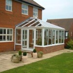 Conservatories and Orangeries - White PVCu Edwardian Conservatory