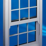 PVCu windows: sliding sash window with Georgian effect