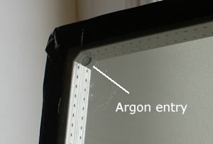 Energy efficiency of windows - Argon gas filled sealed unit