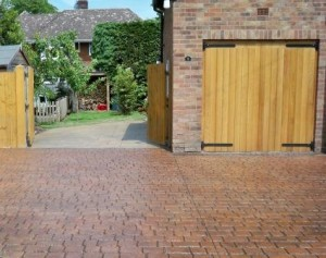 Imprinted concrete 5 main points - Colour consistency - Deep joint cobblestone