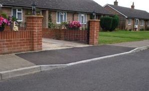 Planning permission for driveways - Dropped kerbs require local authority permission