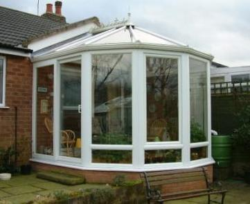 Victorian Conservatories - The completed Victorian 5 Facet Conservatory