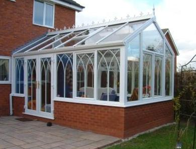 Gable Conservatories - The completed conservatory