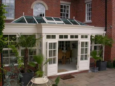 Orangeries - The completed Orangery