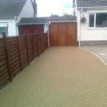 Resin and aggregate driveways - Resin bonded driveway