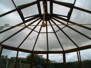10 Key conservatory points - Tinted solar control glass in a Victorian conservatory roof