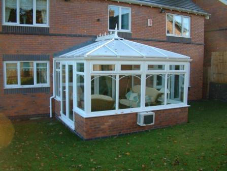 Orangery Style Conservatories are based on Edwardian conservatories