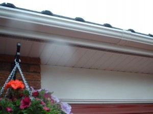 uPVC Roofline products - soffit, fascia, cladding and Ogee gutter