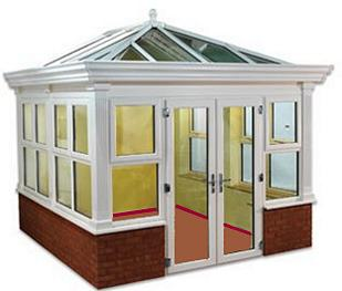 Edwardian conservatories were the starting point for the Synseal Global Summer Orangery Style Conservatory