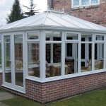 DIY Conservatory Prices - White uPVC Edwardian conservatory